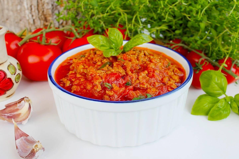 7 лучших пошаговых рецептов заготовки на зиму соуса болоньезе
