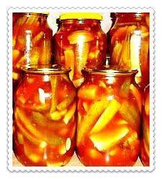 """Консервированные с острым перцем или кетчупом """"чили"""" помидоры: рецепты"""