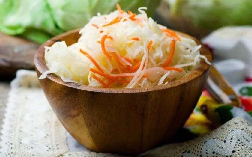 Рецепт квашеной капусты без соли