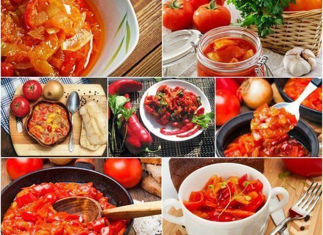 Лечо из болгарского перца на зиму — рецепты, пальчики оближешь