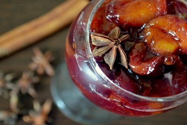 Пошаговый рецепт приготовления варенья из персиков и слив на зиму