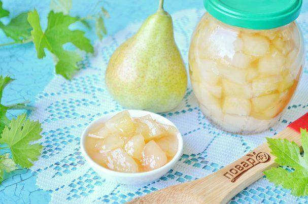 Прозрачное варенье из груш дольками - 5 быстрых рецептов с фото пошагово
