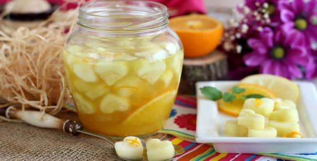 Компот из яблок на зиму – простой рецепт на 3 литровую банку