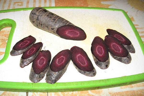 Сорта и полезные свойства черной моркови