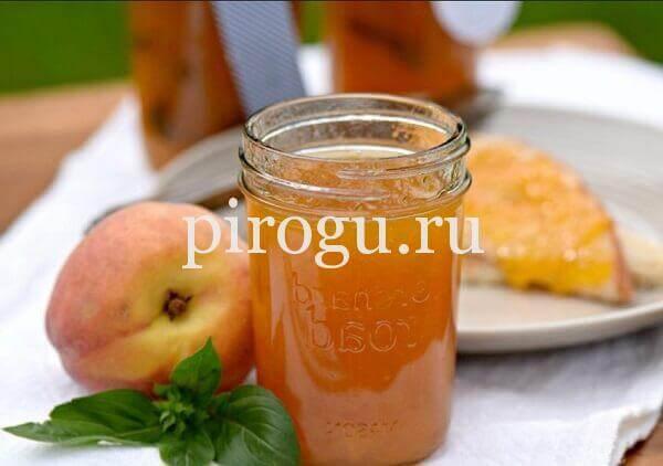 Варенье из персиков на зиму - 5 простых рецептов с фото пошагово