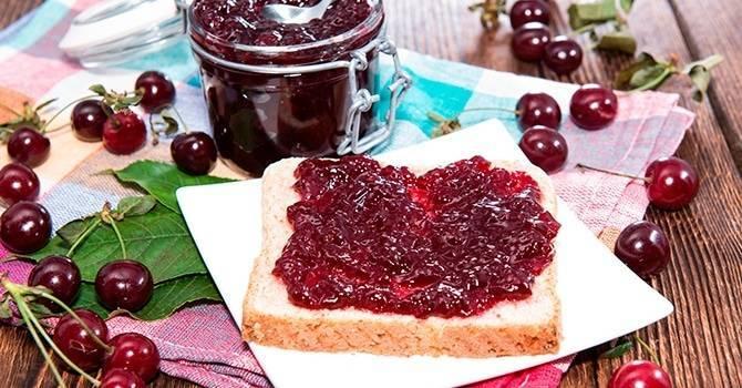 Варенье из вишни без косточек: топ 5 рецептов варенья на зиму