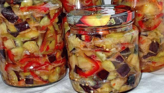 Баклажаны с фасолью на зиму: лучшие рецепты приготовления с фото и видео