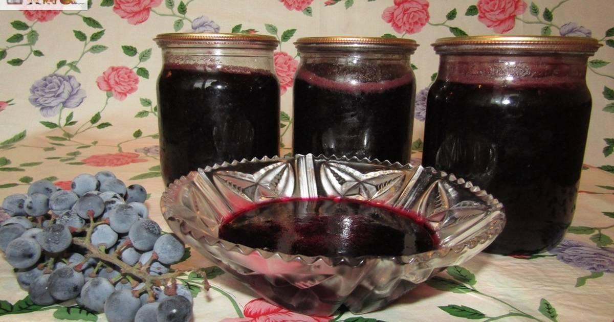 Пошаговый рецепт приготовления варенья из винограда на зиму в домашних условиях