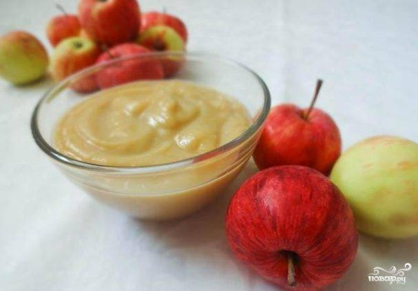 Пюре из яблок для детей на зиму - 5 рецептов с фото пошагово