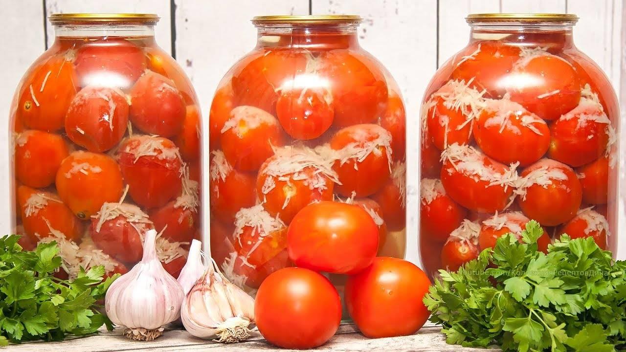 ТОП 3 рецепта маринования помидоров с петрушкой на зиму