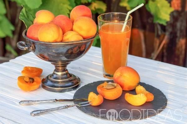 Сок из абрикосов с мякотью, рецепт на зиму