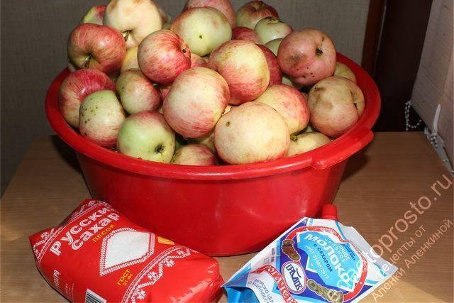 Яблочное пюре с бананом на зиму