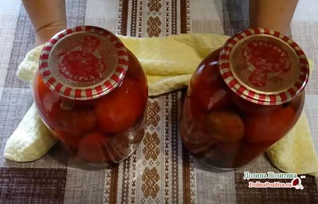 Рецепты помидор со сливами на зиму