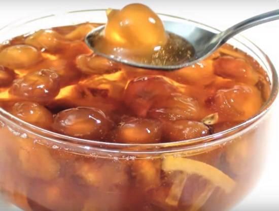 Варенье из черешни – 8 рецептов вкусного варенья на зиму