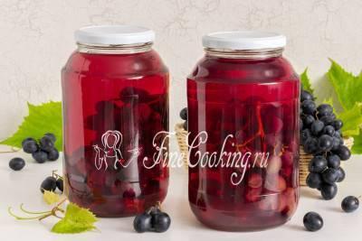 ТОП 2 рецепта консервированного винограда в сиропе на зиму