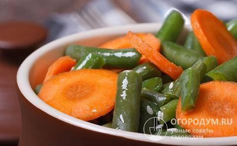 Рецепты маринования спаржевой и стручковой фасоли по-корейски на зиму