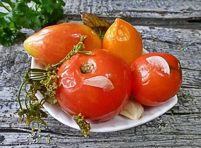 Рецепт армянчиков из зеленых помидор на зиму