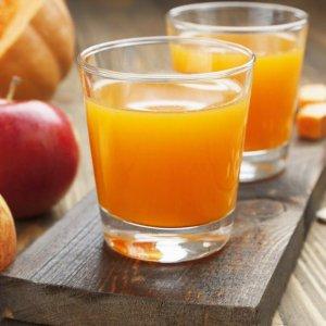 Сок тыквенный с яблоками