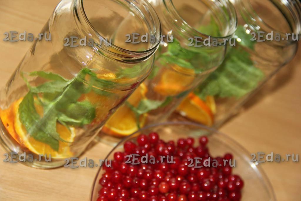 Рецепты вкусного компота из смородины на зиму