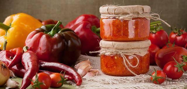 Сладкая аджика на зиму из перца и помидоров: 12 лучших пошаговых рецептов с фото