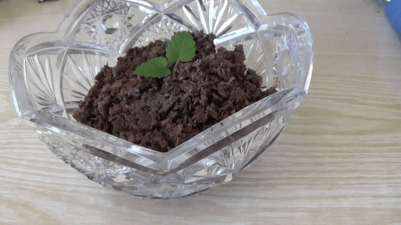 Грибная икра из вареных грибов: рецепт с фото на зиму самый вкусный