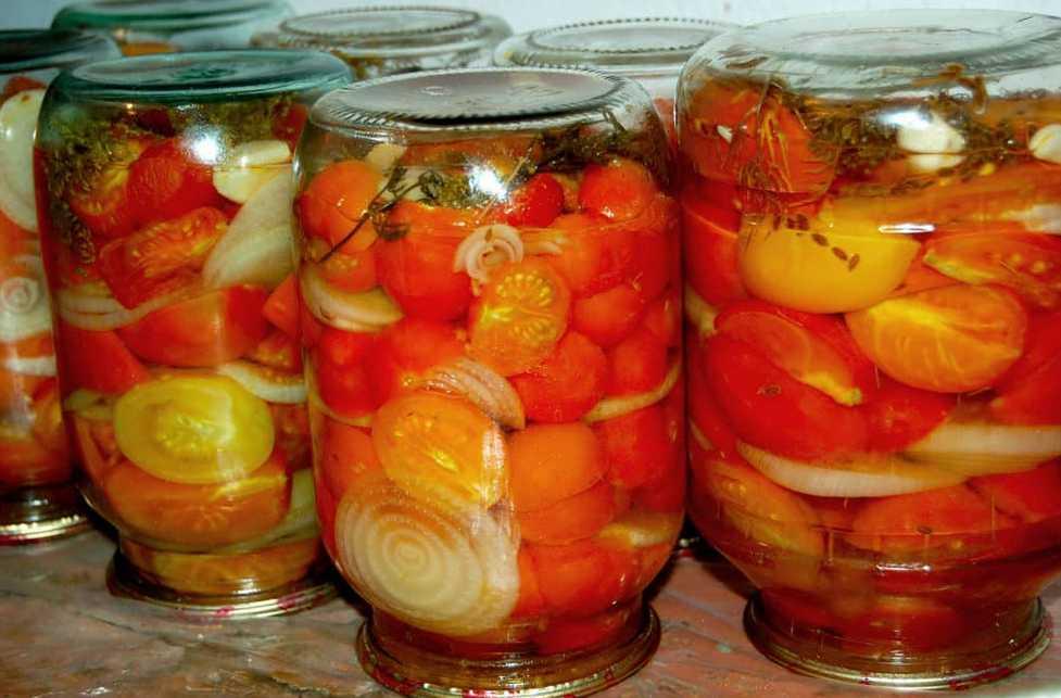 Маринованные помидоры на зиму с уксусом: 13 очень вкусных рецептов