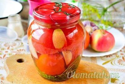 Соленые помидоры на зиму в банках — очень вкусные рецепты