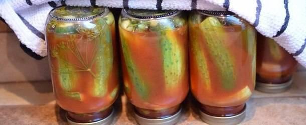 Обалденные рецепты огурцов на зиму с кетчупом чили в литровых банках