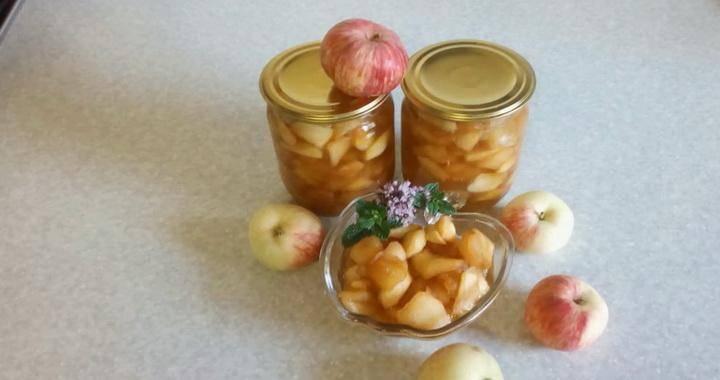 5 лучших рецептов яблочного джема с лимоном на зиму