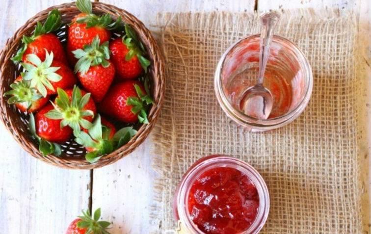 Клубничный джем: 10 рецептов, как приготовить густой и вкусный джем из клубники