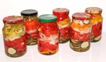 Самые вкусные рецепты «ассорти на зиму из огурцов и помидоров»