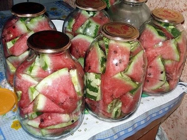 Рецепты вкусных и необычных заготовок арбузов на зиму
