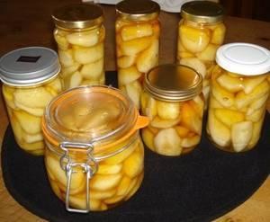 Золотые рецепты приготовления груш на зиму