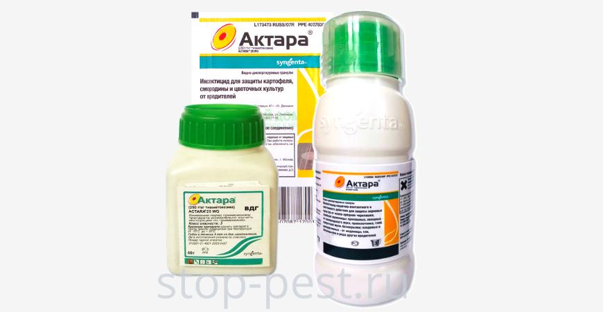 Инсектицид актара описание и применение для комнатных цветов