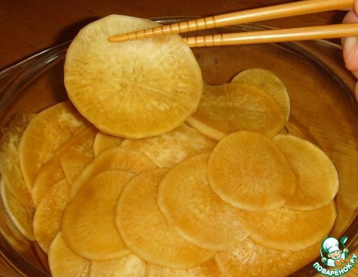 Рецепты маринованного дайкона