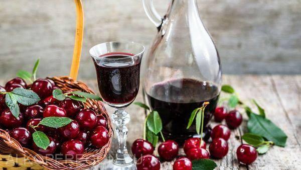 Как сделать вино из мороженых вишен дома