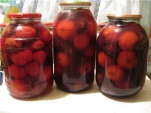 Помидоры со сливами на зиму: рецепты маринования с фото и видео