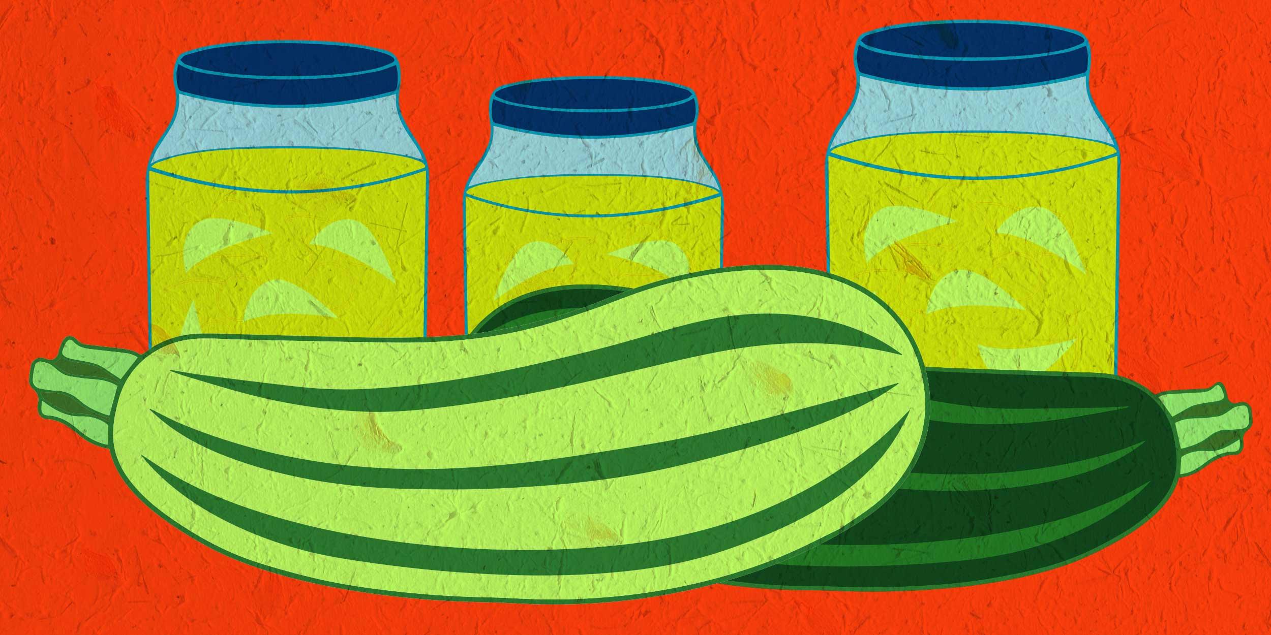 Рецепты приготовления варенья из кабачков с апельсином на зиму
