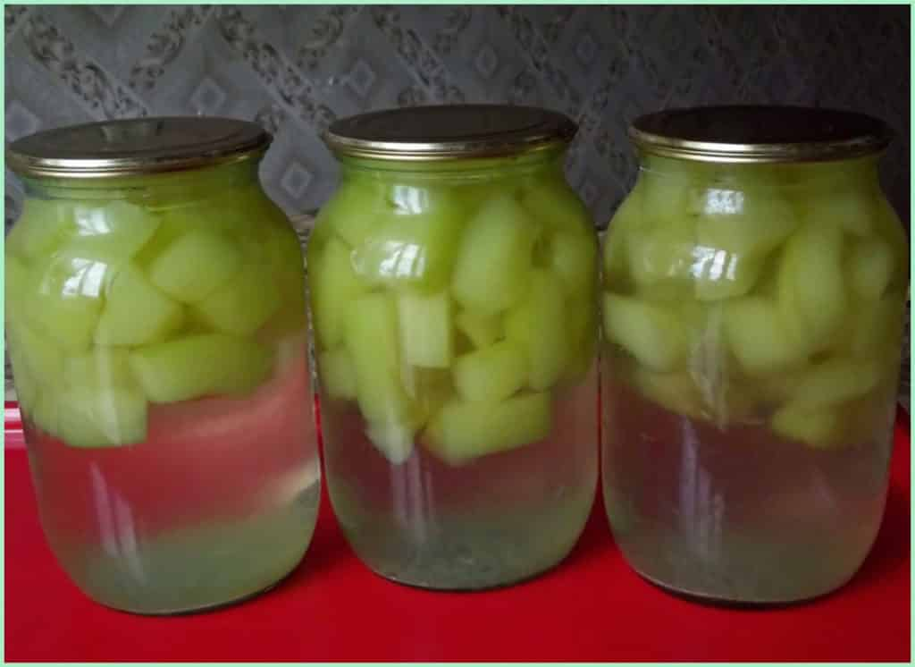 Кабачки как ананасы на зиму: рецепт заготовок