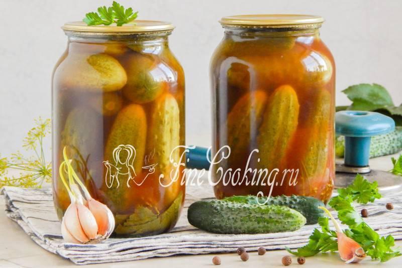 Огурцы с кетчупом чили на зиму, самые вкусные рецепты в литровых банках со стерилизацией и без нее