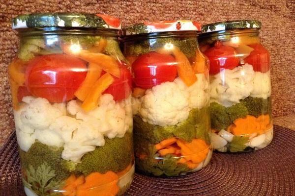 Рецепты очень вкусной маринованной цветной капусты на зиму