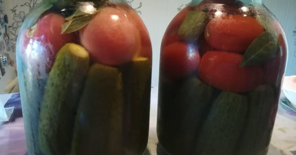 Огурцы с капустой на зиму – 6 рецептов приготовления