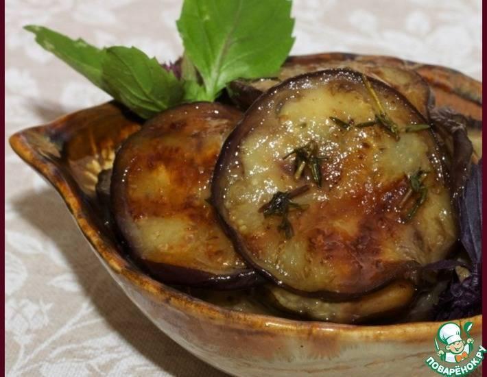 Баклажаны в маринаде на зиму. баклажаны с медом на зиму: рецепт маринования с фото и видео