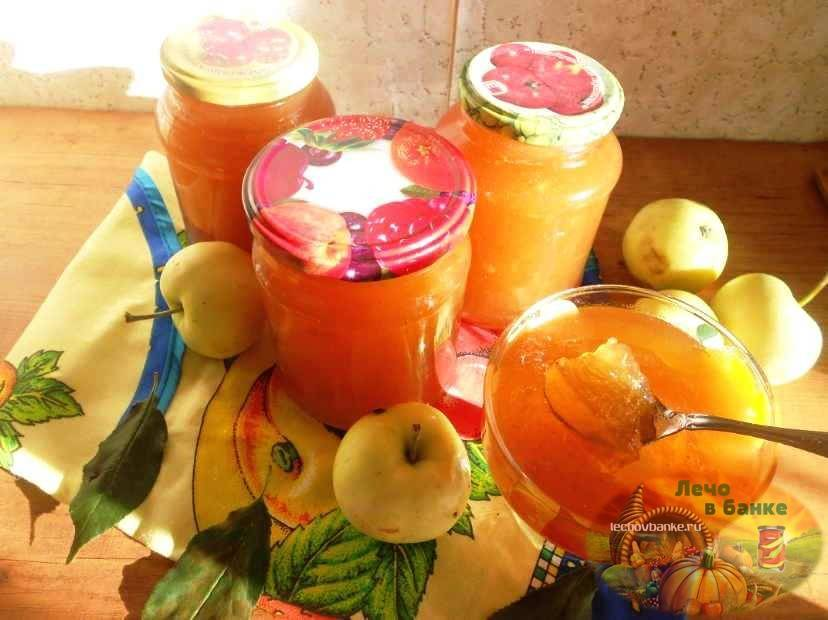 Джем из яблок в домашних условиях - 5 простых рецептов с фото пошагово