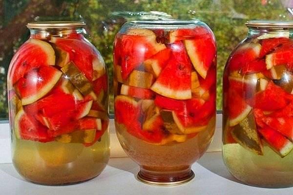 Рецепты консервирования арбузов на зиму без стерилизации