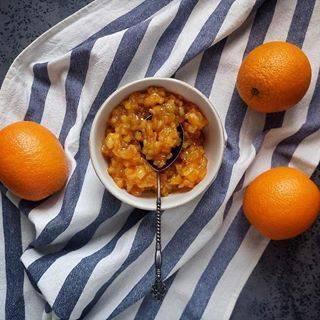 Апельсиновые цукаты из кожуры