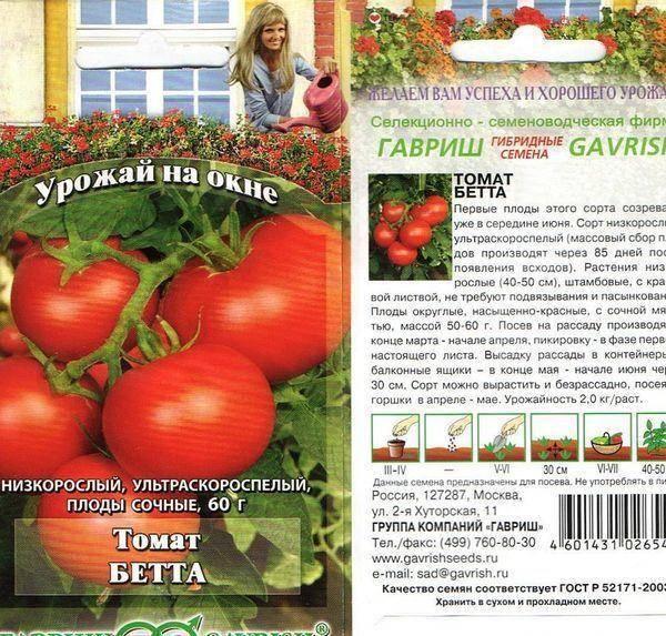 Превосходный урожай уже в середине лета — томат беталюкс: описание сорта и его характеристики