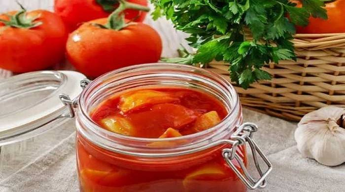 Лечо перец помидоры морковь лук: 19 домашних рецептов