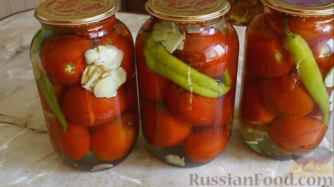 16 лучших рецептов приготовления маринованных острых помидоров на зиму