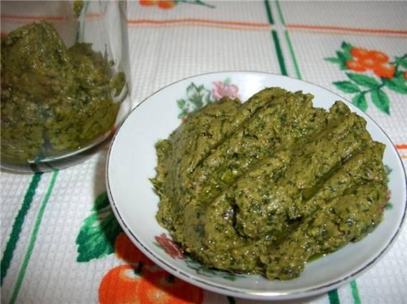 Тонкости приготовления соуса песто с базиликом